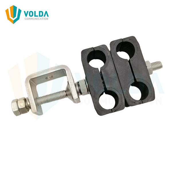SS304 Telecom Tower Cable Clamp for 1/2″ Jumper