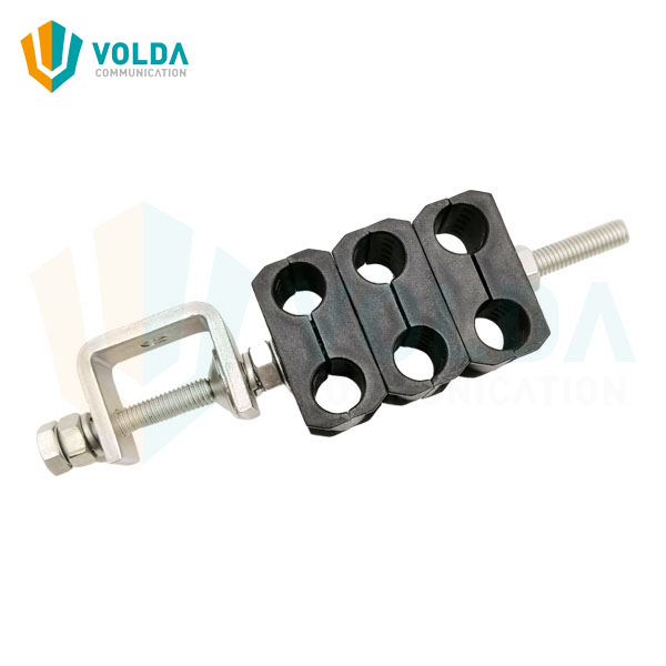 Outdoor Stainless Steel Cable Clamp for 1/2 inch Superflex Feeder