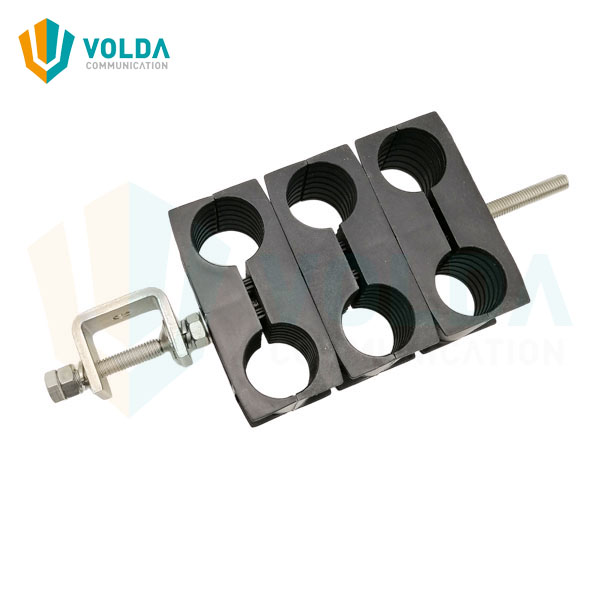 Outdoor Stainless Steel Cable Clamp for 1-5/8 inch Feeder