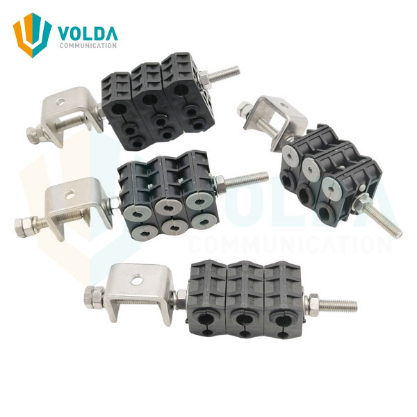 fiber cable clamps