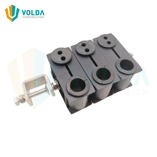 Optical Fiber Cable Clamp for Telecom Tower Transmission Line Mounting