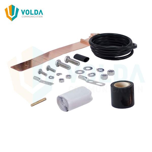 Universal Grounding Kit for 1/2″ thru 3″ Cable
